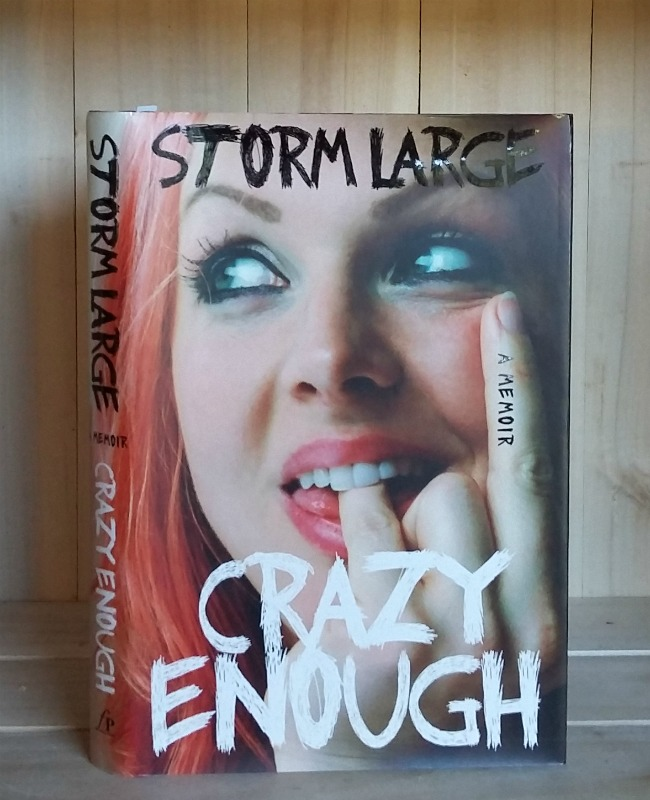 Image for Crazy Enough: A Memoir