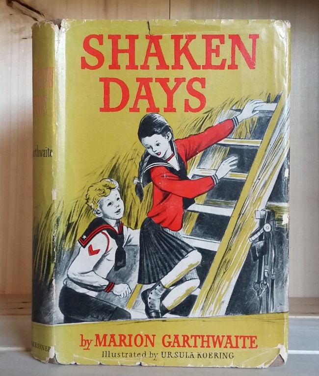 Image for Shaken Days