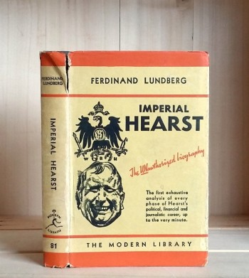 Image for Imperial Hearst: A Social Biography
