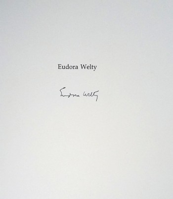 Image for In Black and White (Signed by Eudora Welty and Anne Tyler)