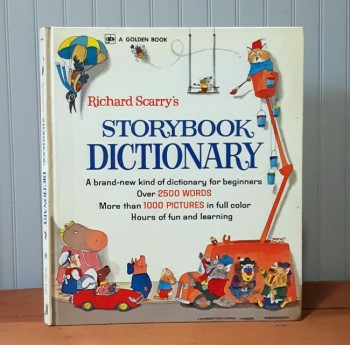 Image for Richard Scarry's Storybook Dictionary
