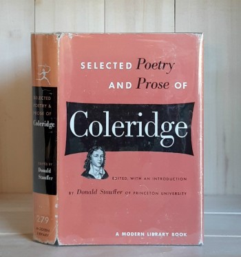 Image for Selected Poetry and Prose of Coleridge