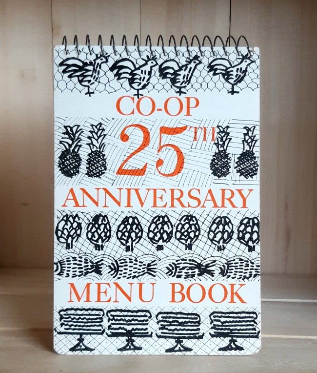 Image for Co-op 25th Anniversary Menu Book