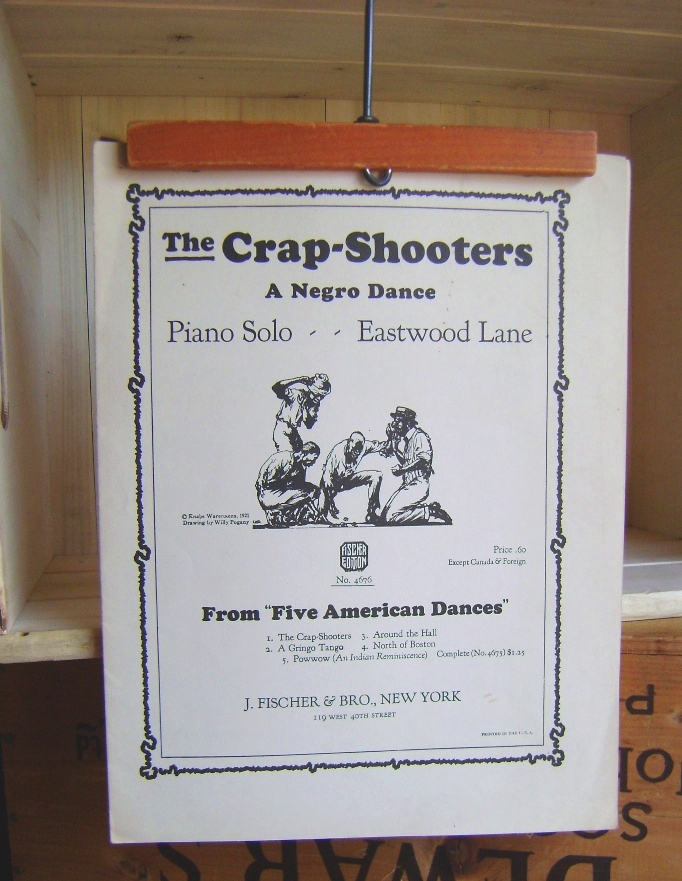 Image for The Crap Shooters: A Negro Dance: Piano Solo
