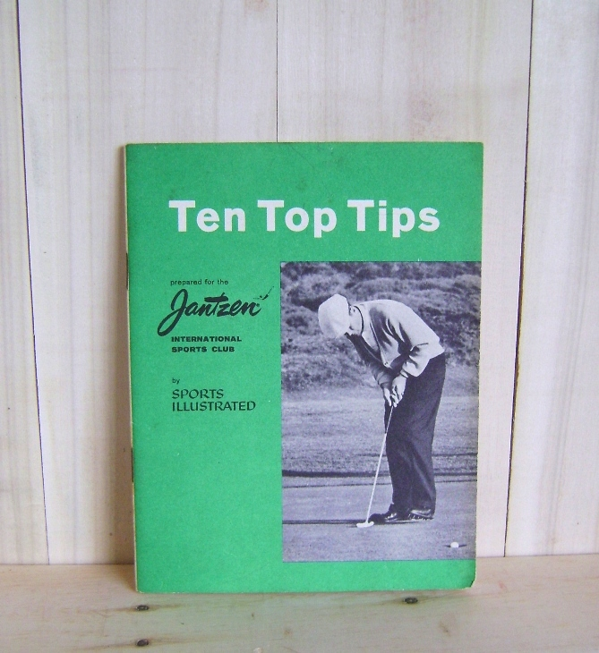 Image for Ten Top Tips: Prepared for Jantzen International Sports Club by Sports Illustrated (Golf Instruction Booklet)