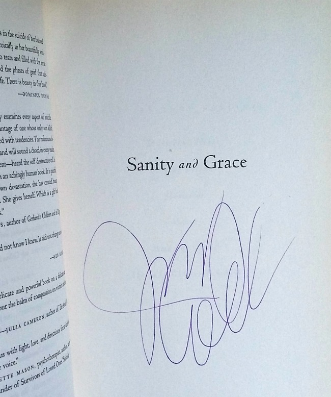 Image for Sanity and Grace: A Journey of Suicide, Survival, and Strength