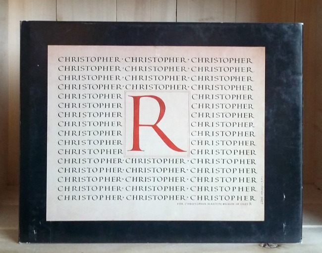 Image for R as in Chrrristophr: The story of two extraordinary people