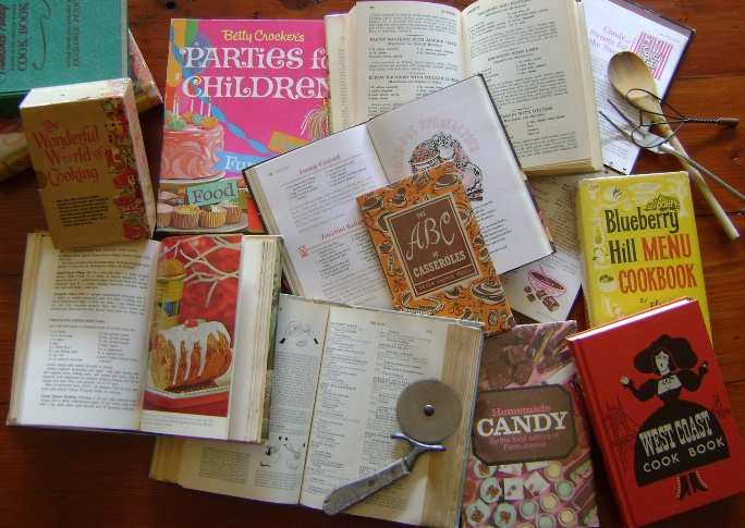 Image for Vintage Monthly Book Club: Cookbooks - 1 year subscription